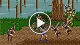Classic Game Room - GOLDEN AXE 2 Sega Genesis / PS3...