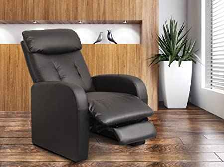 Reclining Armchair H-5610C/1413 Black
