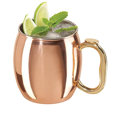 Oggi Moscow Mule Copper Mug, 20-Ounce