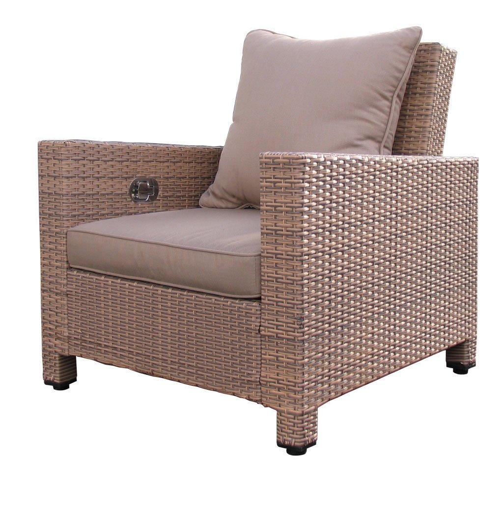 Lounge Sessel Lanzarote verstellbar inkl. Kissen jetzt bestellen