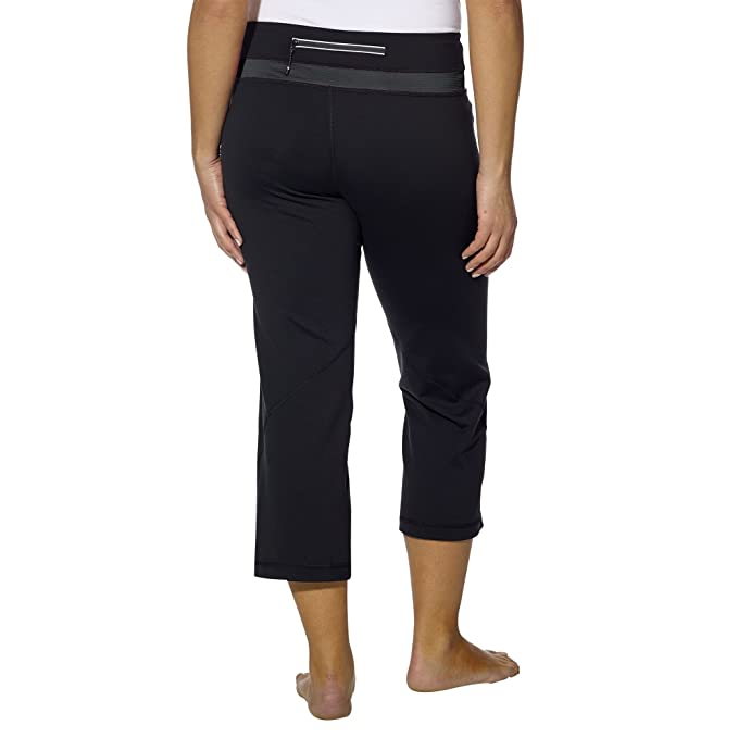 Kirkland Signature Womens Yoga Capri Active Pants Black