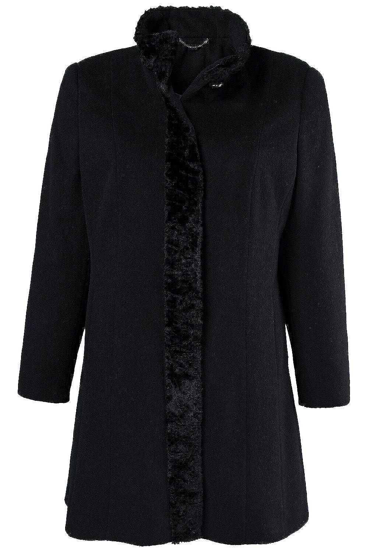 Ulla Popken Damen Mantel 701638 große Größen jetzt bestellen
