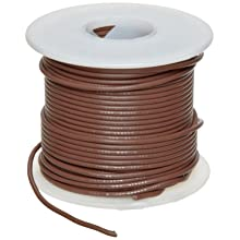 UL1061 Commercial Copper Wire, Brown PVC Insulation