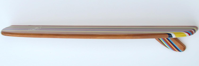 Amazon.com - 3 Ft Surfboard Shelf Classic Longboard Stripe ...