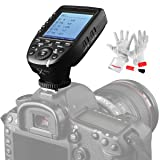 Godox Xpro-N TTL Wireless Flash Trigger Transmitter for Nikon 1/8000s HSS TTL-Convert-Manual Function Large Screen Slanted Design 5 Dedicated Group Buttons 11 Customizable Functions (Color: XPro-N)