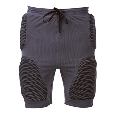 Forcefield Pro Armour Impact Shorts - Grey