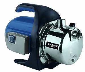 Einhell BGGP 1140 N Gartenpumpe, 1100 Watt, 4000 l/h max. Fördermenge, 4,3 bar, Edelstahlgehäuse  BaumarktKundenbewertung und Beschreibung