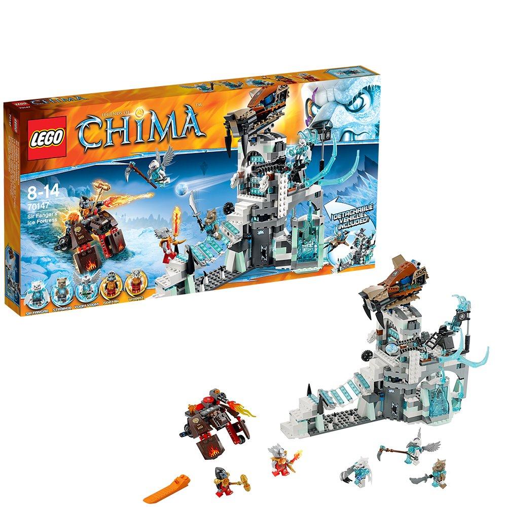 Lego Legends of Chima 70147 Sir Fangars Eisschloss als Geschenk
