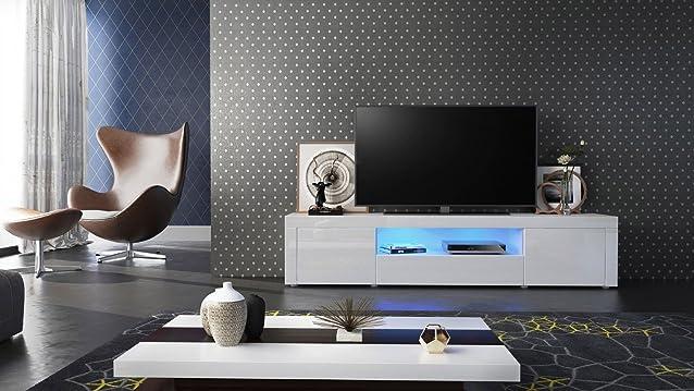 Porta TV moderno Diego PT2, mobile per TV di design in più colori