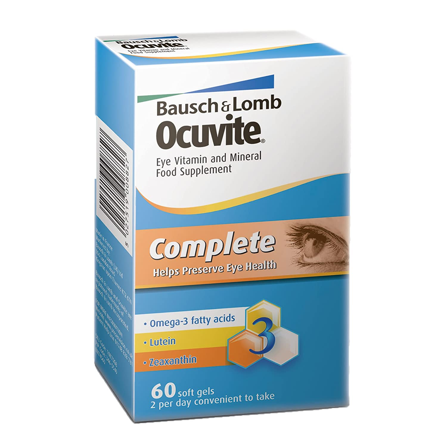 What is in ocuvite vitamins