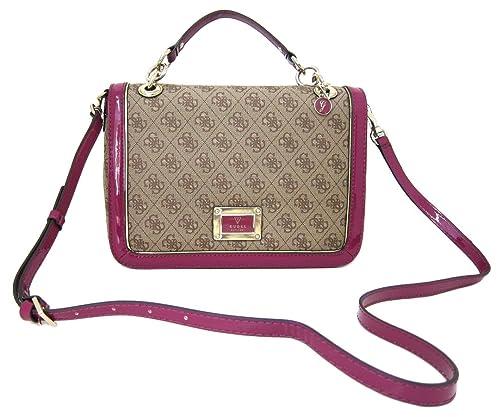 Guess Handbag Reama Top Handle Flap Shoulder Bag 54