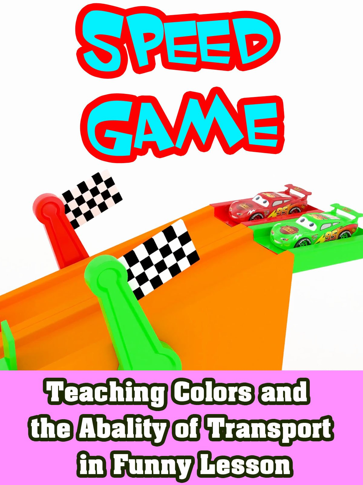 Teaching Colors and the Abality of Transport in Funny Lesson