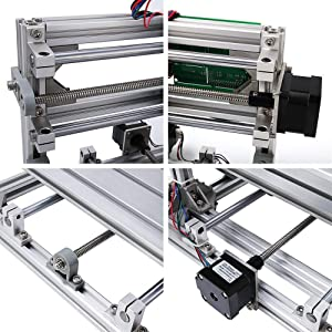 DIY CNC Router Kits 2418 GRBL Control 3 Axis Plastic Acrylic