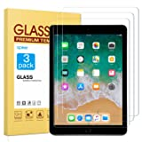 [3 Pack] Screen Protector for iPad 9.7 (2018 & 2017) / iPad Pro 9.7, apiker Tempered Glass Screen Protector Compatible with Apple Pencil (Color: HD Clear)