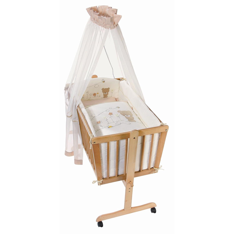 Easy Baby Wiege Komplettset natur, Honey bear 181-79