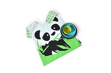 biobu by ekobo ekobo 33782 coq en pate set de vaisselle pour enfant avec avec bavoir. Black Bedroom Furniture Sets. Home Design Ideas
