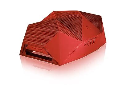 Outdoor Tech Big Turtle Shell Enceinte Bluetooth Rouge