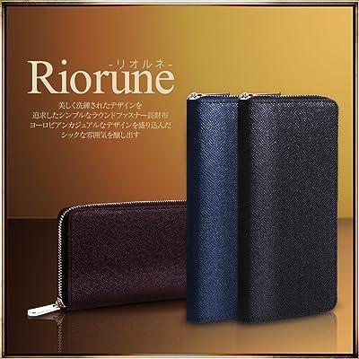Riorune ラウンドファスナー 長財布