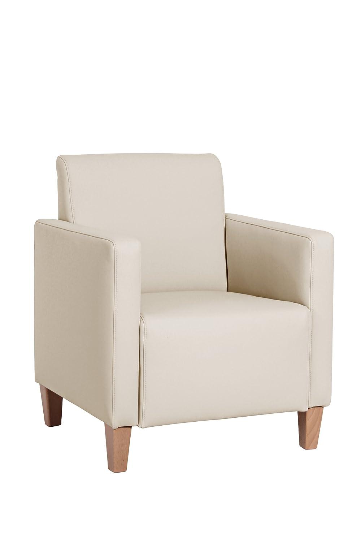 Max Winzer 2792-1100-2070102 Sessel Malu, Kunstleder, beige