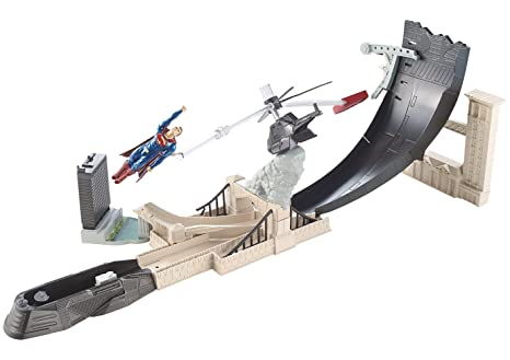 Hot Wheels - DJH61 - Playset Batman Vs Superman