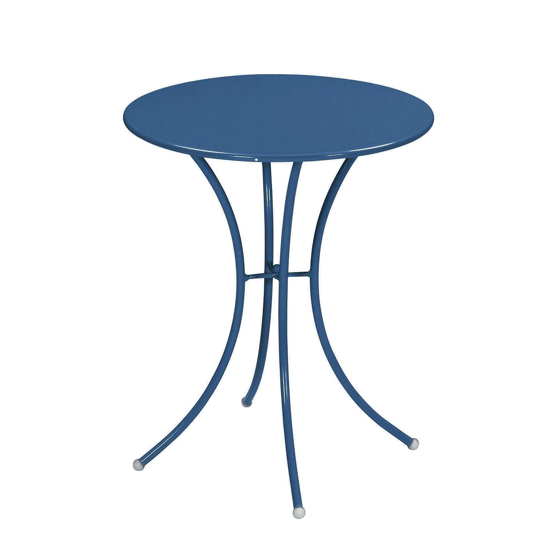 Emu 309056100 Pigalle Tisch 905, ø 60 cm, pulverbeschichteter Stahl, petrolblau günstig kaufen
