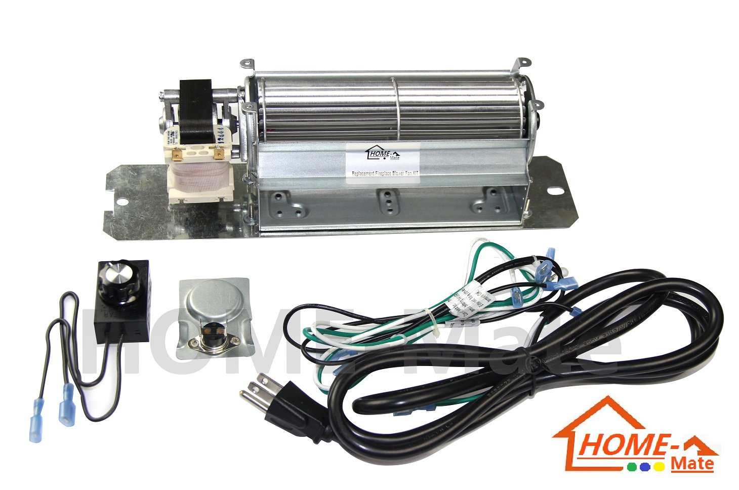Hongso Gz550 Replacement Fireplace Blower Fan Kit For Continental Napoleon Ebay