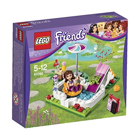 Lego Friends - 41090 - Jeu De Construction - La Piscine D'olivia