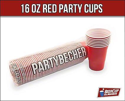 Becher Beer Pong Rote Becher Red Party Beer