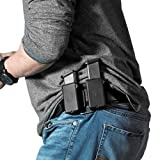 Alien Gear holsters Double Cloak Mag Carrier - 9mm / .40 Caliber Double Stack (Color: black, Tamaño: 9 mm / .40 Caliber double stack)