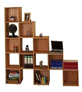 Büroregal aus Massivholz Buche geölt, Dachschrägenregal, Regal Dachschräge, Würfelregal  Kundenbewertung und weitere Informationen