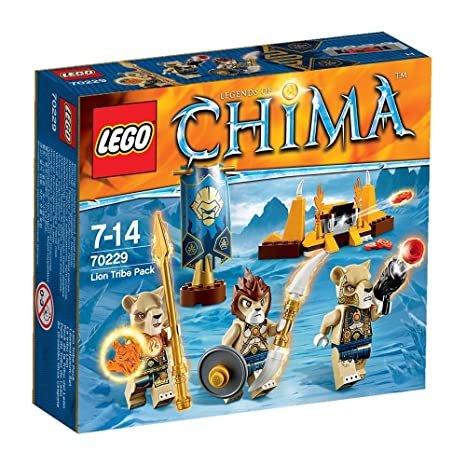 LEGO Legends Of Chima - Playthèmes - 70229 - Jeu De Construction - La Tribu Lion