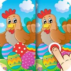 Ostern - Finde die Unterschiede f�r Kinder und Erwachsene