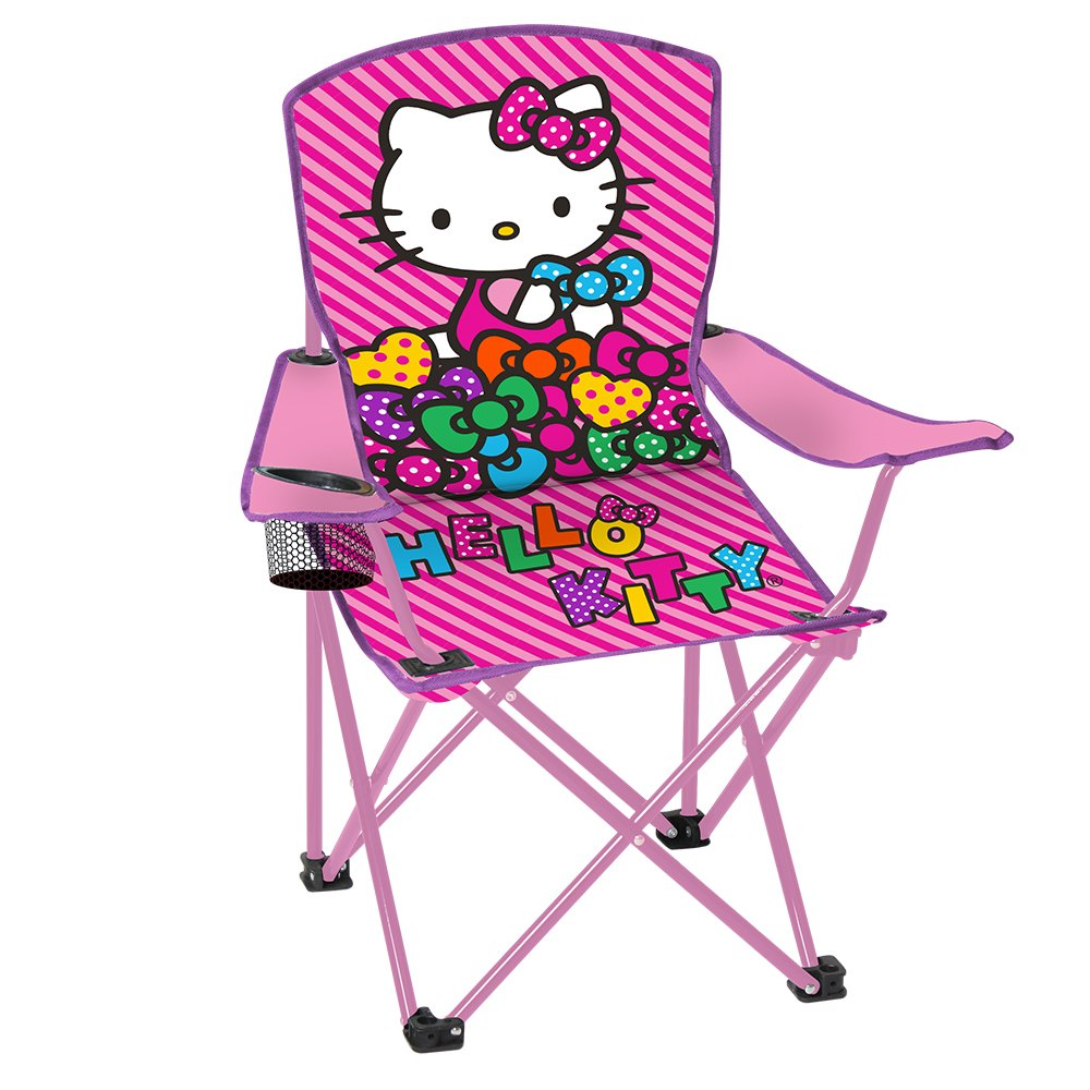 Hello Kitty Youth Folding Chair with Armrest and Cup Holder internet explorer 4 for windows® for dummies® quick reference