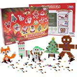 H&W Christmas Gift Fuse Beads Kits - Eductional Iron Bead Decoration - DIY Toy Decor Funny and Exercise Children's Mind (MC5-D1) (Color: Christmas Gift)