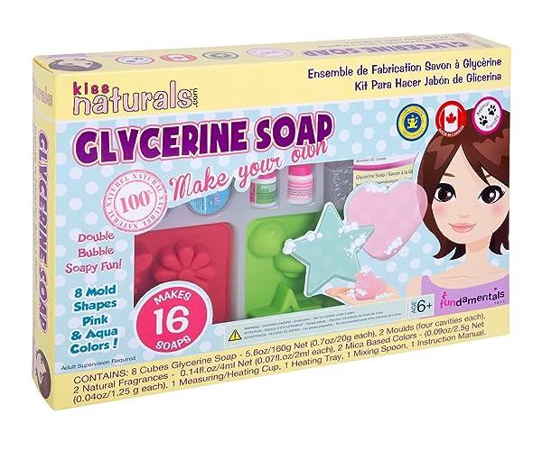 Kiss Naturals: Soap Making Kit - All Natural, DIY