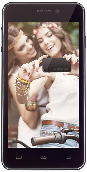 Wolder miSmart XELFIE Smartphone débloqué (4.5 pouces - 8 Go)  (import Espagne)