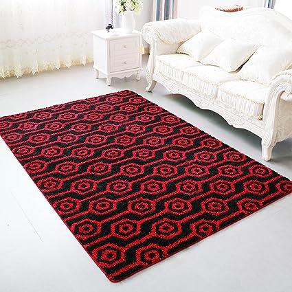 Alfombra para niñosModerna mesa de centro minimalista, sala de estar cabecera cama de dormitorio, sala de alfombra de estilo europeo , 140*200cm