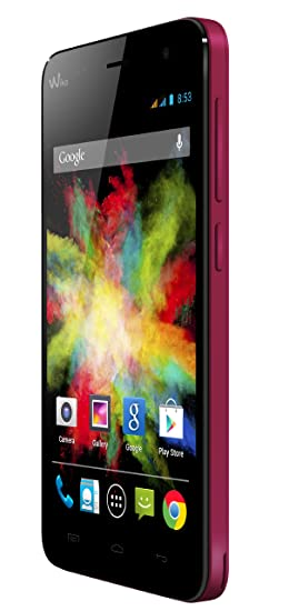 Wiko Bloom Smartphone débloqué 3G+ (Ecran : 4.7 pouces - 4 Go - Android 4.4 KitKat) Fuschia
