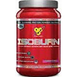 BSN ISOBURN Protein Powder - Strawberry 1.32 Pound (Color: Yellow, Tamaño: 1.32 lb)