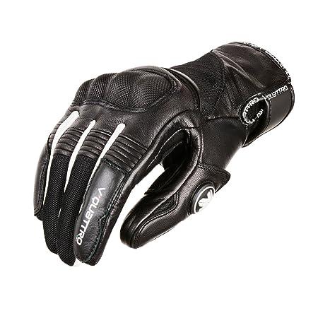 V Quattro Design V4G-SPIDEREVO2-BWXL Gants de Moto Spiderevo2 Noir/Blanc Taille XL