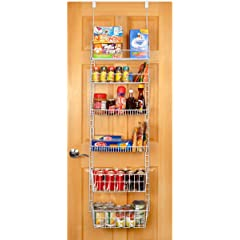 Large Deluxe Over The Door Pantry Organizer