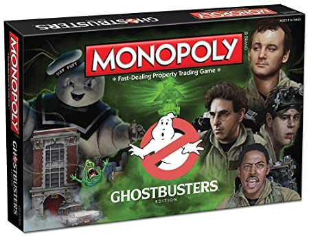 Monopoly: Ghostbusters Edition Board Game by USAopoly