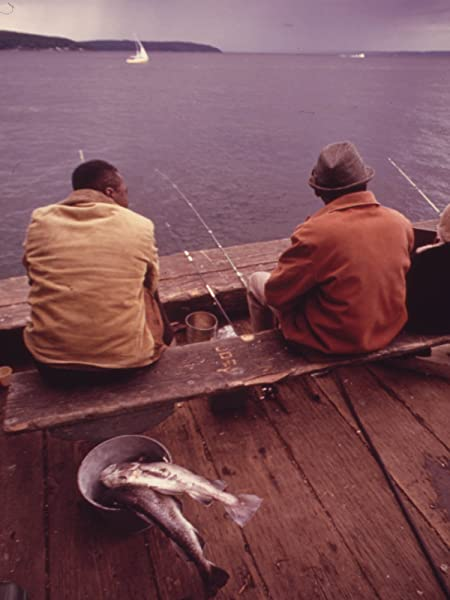 Fishing from Pier at Point Defiance Park