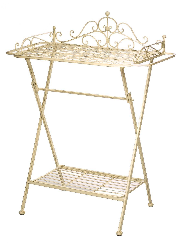 Butlers´s tray Serviertisch Gartentisch Eisen Garten Klapptisch Beistelltisch online kaufen