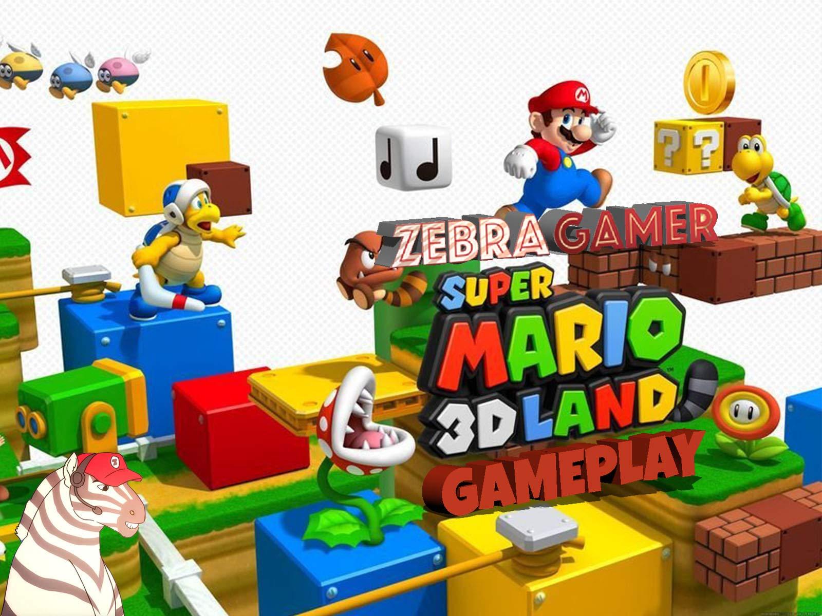 Clip: Super Mario 3D Land Gameplay - Zebra Gamer - Season 1