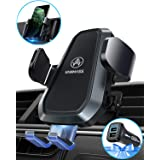 VANMASS Wireless Car Charger Mount, Upgraded Fast Charging, Automatic Clamping, Smart Sensor, Air Vent Phone Holder Compatible with iPhone 11 Xs Max XR 8 Plus, Samsung S10 S9 S8 Note 10, LG V30, etc (Color: Black, Tamaño: 10W)