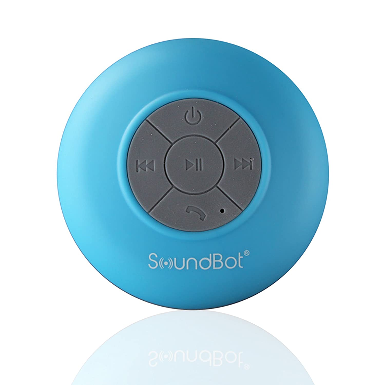 Soundbot Hd Water Resistant Bluetooth Shower Speaker 13