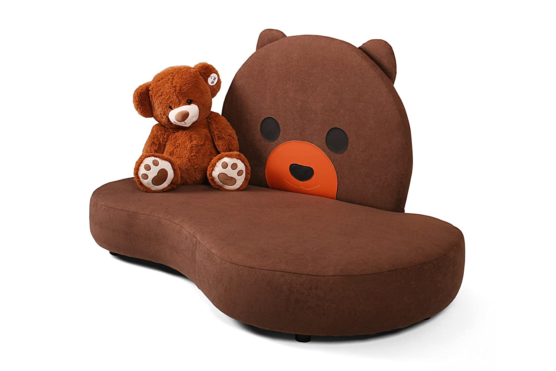 Kindercouch Teddy Originelles Kuschelsofa gepolstert für Kinder KINIC jetzt kaufen
