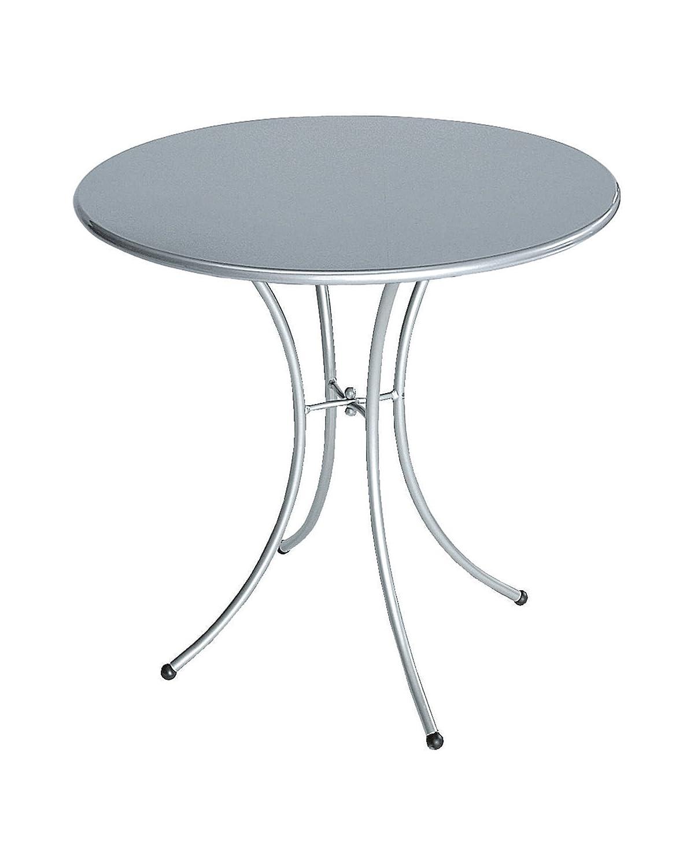 Emu 309062000 Pigalle Tisch 906, ø 80 cm, pulverbeschichteter Stahl, aluminium