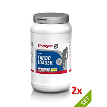 Sponser CARBO Loader 2x1200g Citrus Orange SPARSET Sport Getränk Fitness Kohlenhydrate, 2x04-500